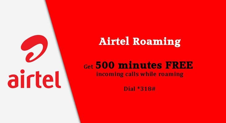 Airtel Images - Airtel Roaming on smart premier at 500 minutes free