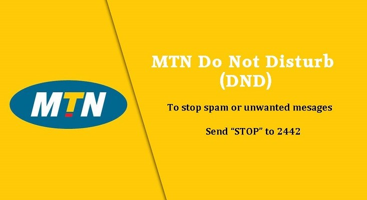 MTN images - MTN Do not Disturb DND to stop unwated text messages