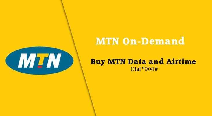 MTN images - MTN On-demand to buy credit and airtime from bank