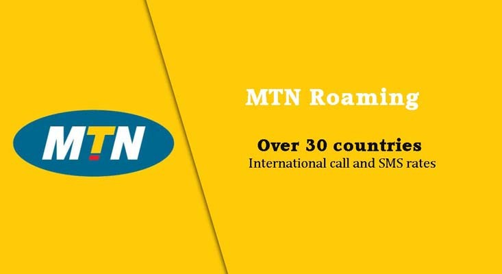MTN images - Roaming rates over 30 countries