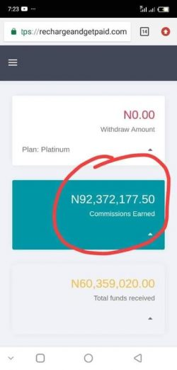 Recharge And Get Paid ewallet